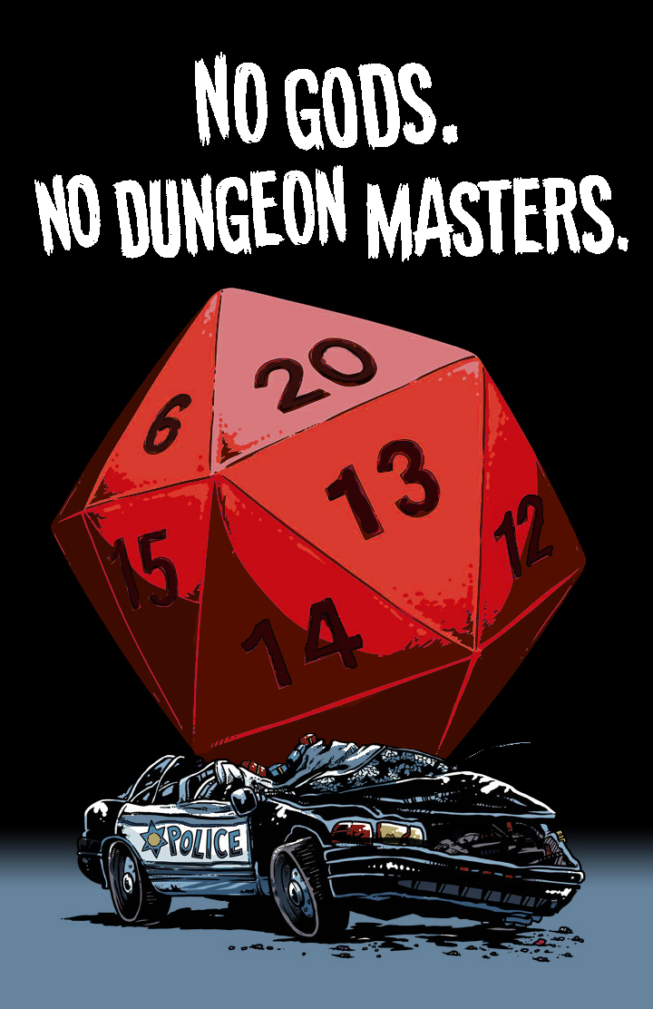 No Gods. No Dungeon Masters. by Io and Rachel Dukes