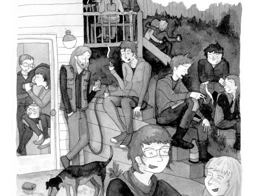 Free Comic: 69 Gay Street by Emilja Frances