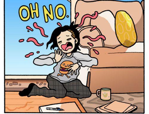 Free Comic: Cat Nap by Rachel Dukes