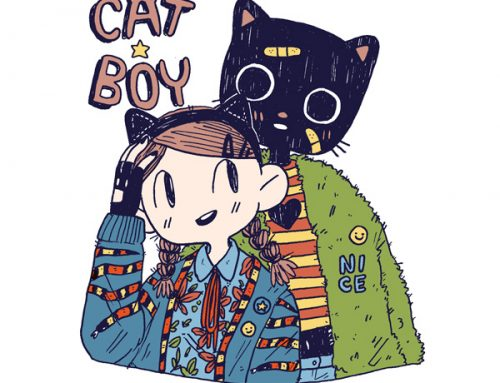 San Diego ComicCon + new comics: Catboy, Please Keep Warm, EXXXS & Daygloayhole