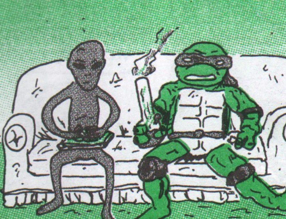 """Stoner Alien"" by Pat Aulisio"