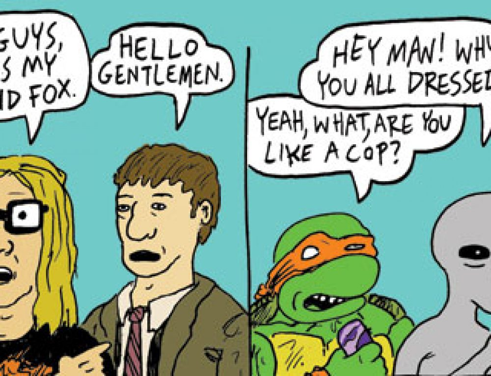 """Stoner Alien vs. X-Files"" by Pat Aulisio"