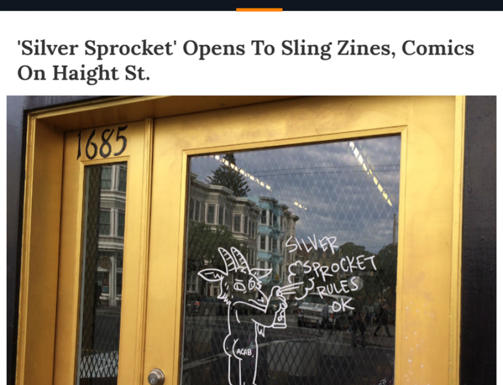 Silver Sprocket Gallery in the News