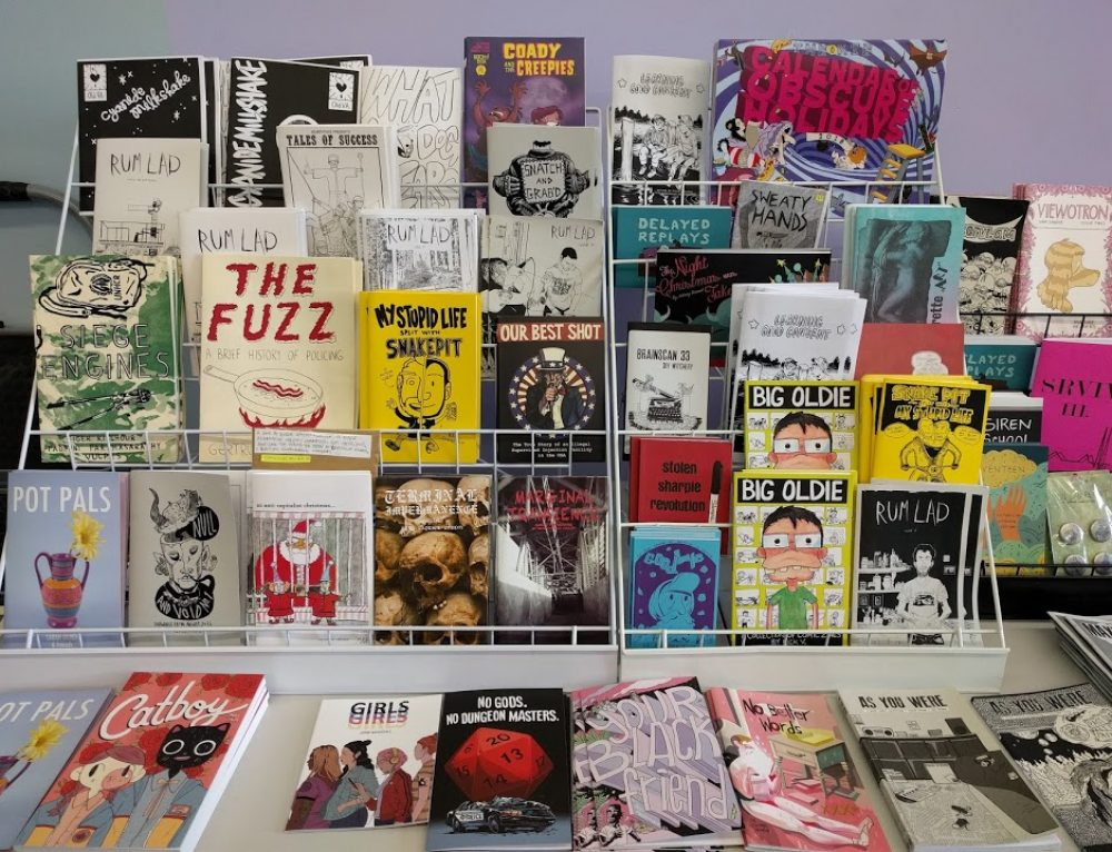 Sell Your Comics and Zines at Silver Sprocket