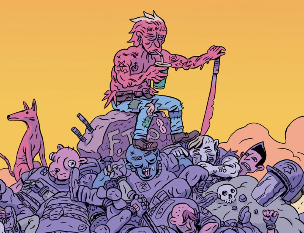 "Ben Passmore's ""Daygloayhole"" Post-Apocalyptic Sci-Fi earns Previews ""Staff Pick"""
