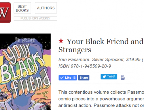 """Starred Review"" for Your Black Friend from Publishers Weekly"