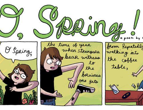 O, Spring! by Liz Prince