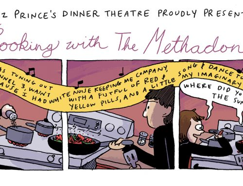 Cooking With The Methodones by Liz Prince