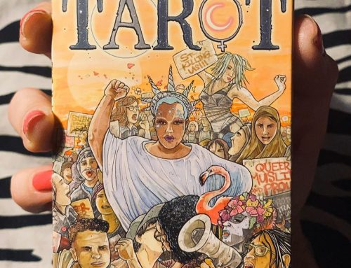 Pocket sized Next World Tarot decks by Cristy C Road are here