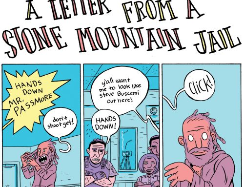 A Letter From Stone Mountain Jail by Ben Passmore