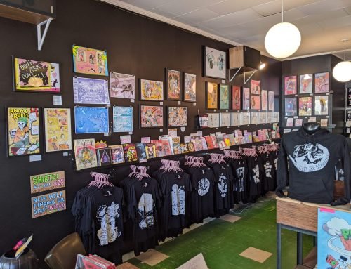Radlands Art Show by Liz Suburbia at New Store Location!