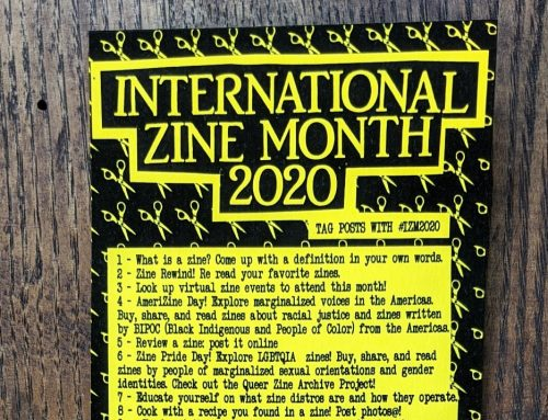 July is International Zine Month