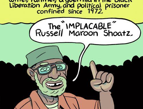 Russell Maroon Shoatz by Ben Passmore