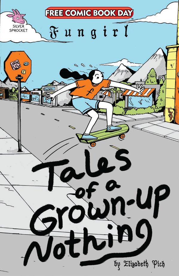 Cover Art for Fungirl's FCBD comic book